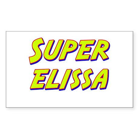 Super elissa Rectangle Sticker