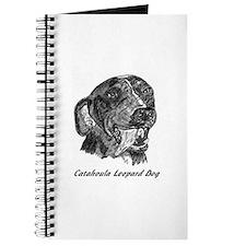 Cute Catahoula leopard dog Journal