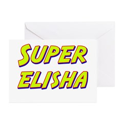 Super elisha Greeting Cards (Pk of 20)