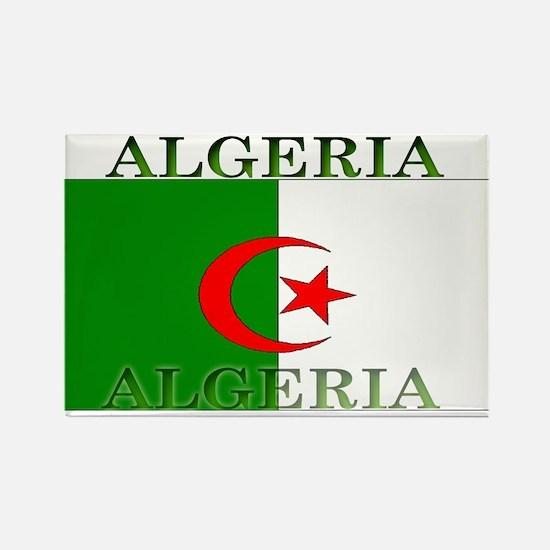 Algeria Algerian Flag Rectangle Magnet