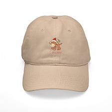 Santa's Puppy Baseball Cap