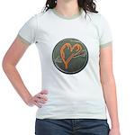 Heart Jr. Ringer T-Shirt