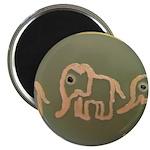 Pink Elephants Magnet