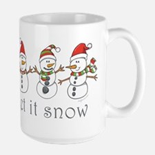Let It Snow Large Mug