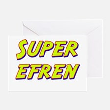 Super efren Greeting Card