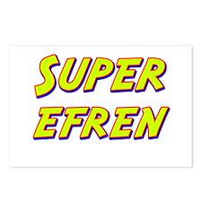 Super efren Postcards (Package of 8)