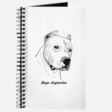 Funny Dogo argentino Journal