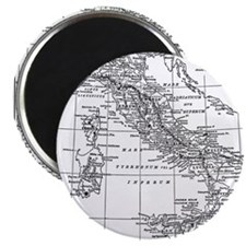 Augustus' Italy Map Magnet