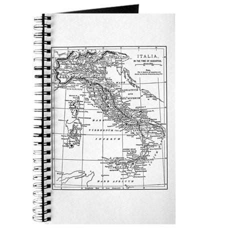 Augustus' Italy Map Journal