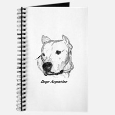 Unique Dogo argentino Journal