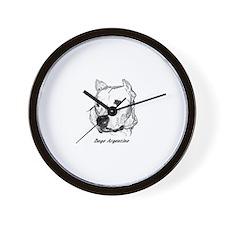 Funny Dogo Wall Clock