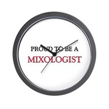 Proud to be a Mixologist Wall Clock
