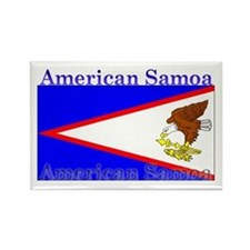 American Samoa Flag Rectangle Magnet