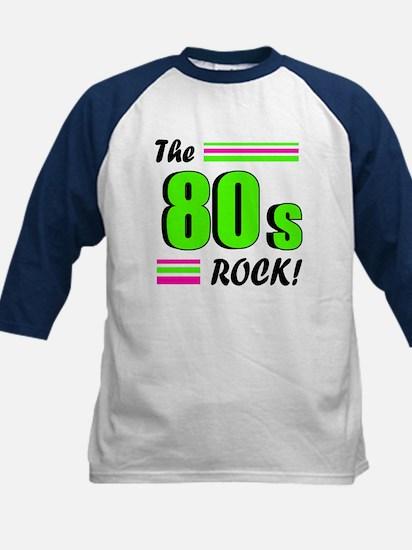 'The 80s Rock!' Kids Baseball Jersey