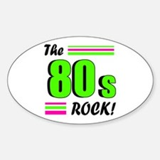 'The 80s Rock!' Decal