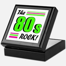 'The 80s Rock!' Keepsake Box