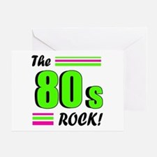 'The 80s Rock!' Greeting Card