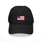 Black Betsy Ross Flag Hat