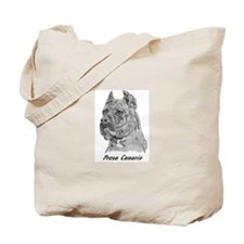 Cute Presa canario Tote Bag