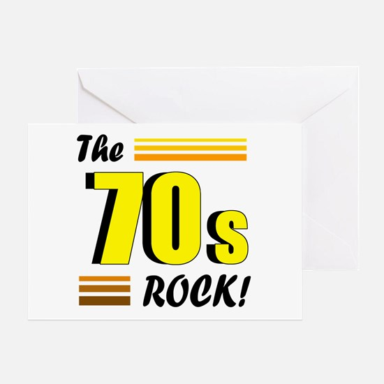 'The 70s Rock' Greeting Card