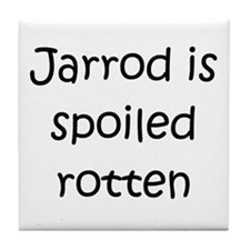 Funny Jarrod name Tile Coaster