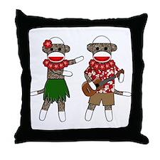 Cute Ukuleles Throw Pillow