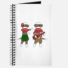 Cute Luau Journal