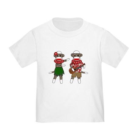 2-sockmonkey_luaucouple01 T-Shirt