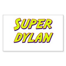 Super dylan Rectangle Decal