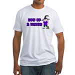 SON OF A WITCH Fitted T-Shirt