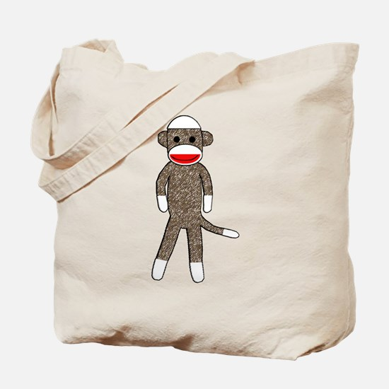 Cute Sockmonkey Tote Bag