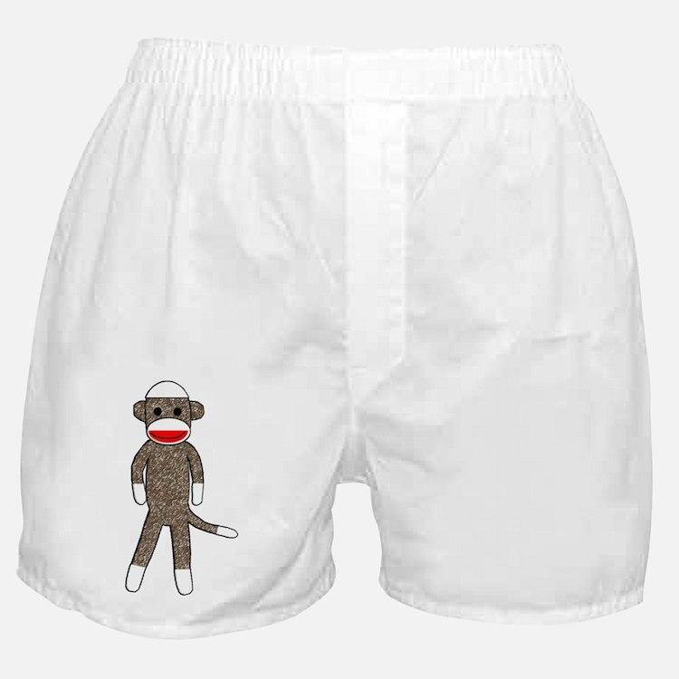 Cute Sock monkeys Boxer Shorts