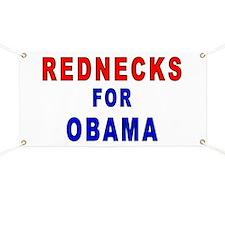 Rednecks for Obama Banner