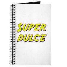Super dulce Journal