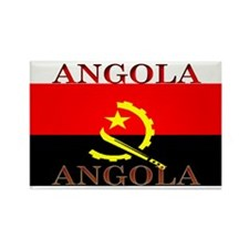 Angola Angolan Flag Rectangle Magnet