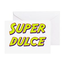 Super dulce Greeting Card