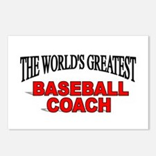"""The World's Greatest Baseball Coach"" Postcards (P"