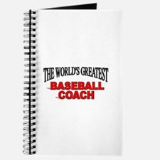 """The World's Greatest Baseball Coach"" Journal"