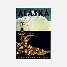 Alaska Pride! Rectangle Magnet