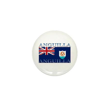Anguilla Flag Mini Button (10 pack)