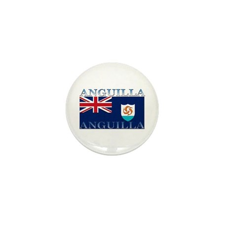 Anguilla Flag Mini Button