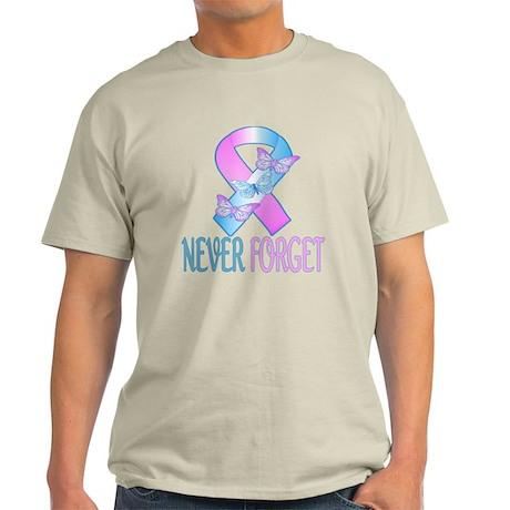 Pregnancy & Infant Loss Ribbon Light T-Shirt