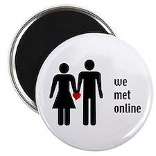 we met online Magnet
