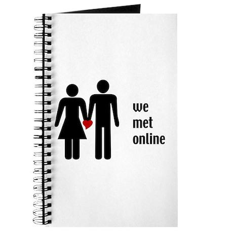 we met online Journal