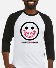 SMILE MAKER-THERAPY DOGS Baseball Jersey
