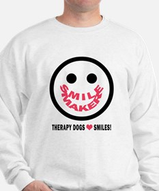 SMILE MAKER-THERAPY DOGS Sweatshirt