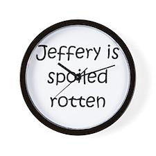 Cool Jeffery Wall Clock