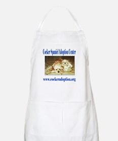 Cocker Spaniel Adoption Center BBQ Apron