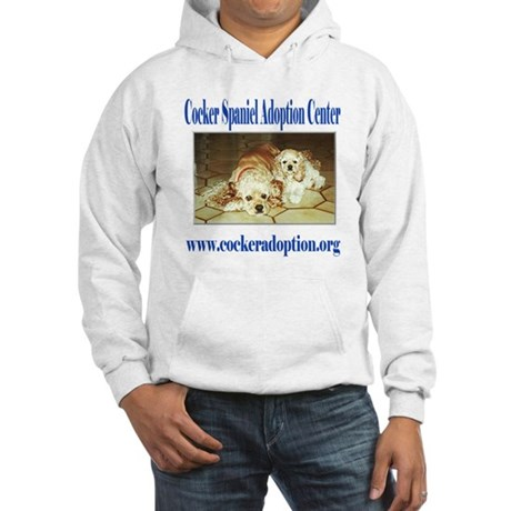 Cocker Spaniel Adoption Center Hooded Sweatshirt