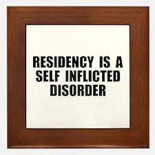 Medical Residency Framed Tile